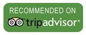 Recommended on Trip Advisor