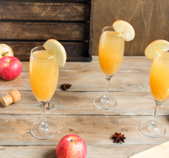 Apple Cider Mimosa Cocktail Home Box