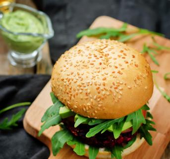 Black Bean Burger Home Page
