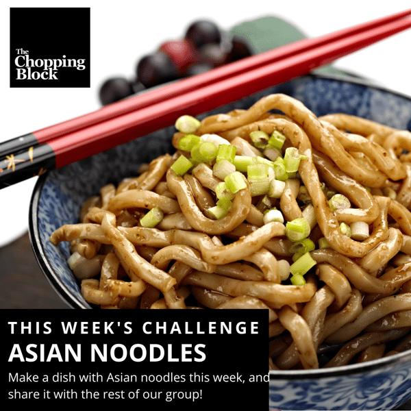 Asian Noodles FB Challenge