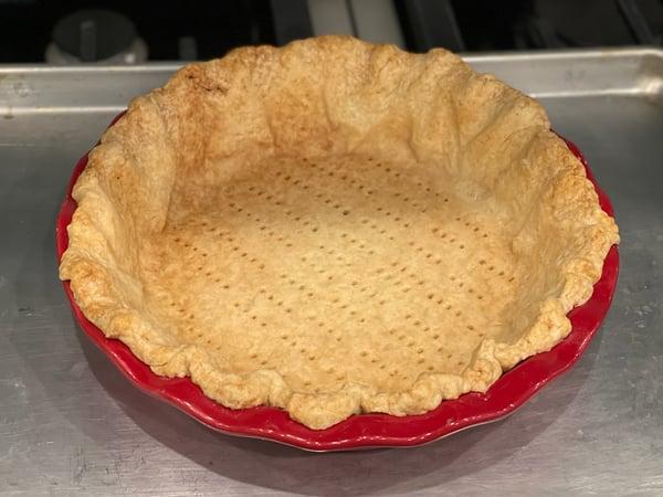 Baked One Crust Pie