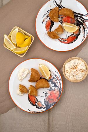 Crab_Cake_Pierogies_with_Goat_Cheese_Remoulade_Photo__Casey_Barber