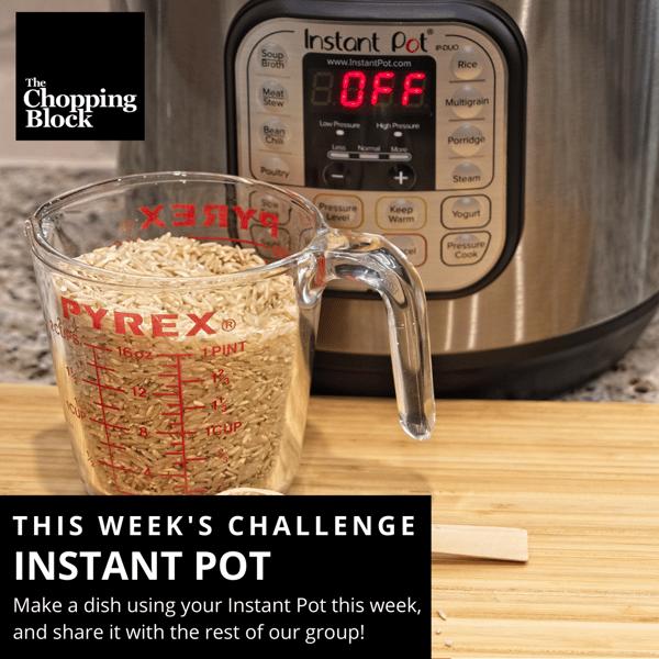 Instant Pot FB Challenge