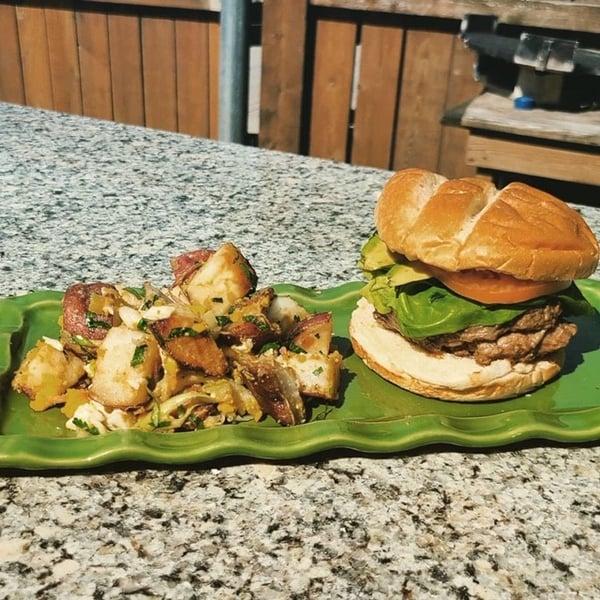 LS patio burger
