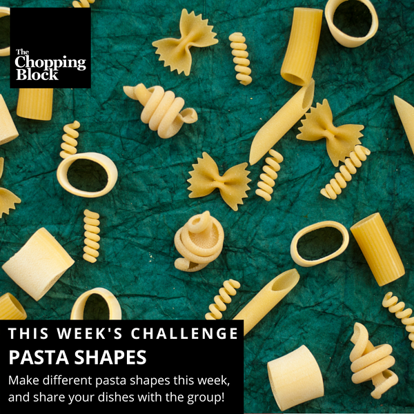 Pasta Shapes FB Challenge
