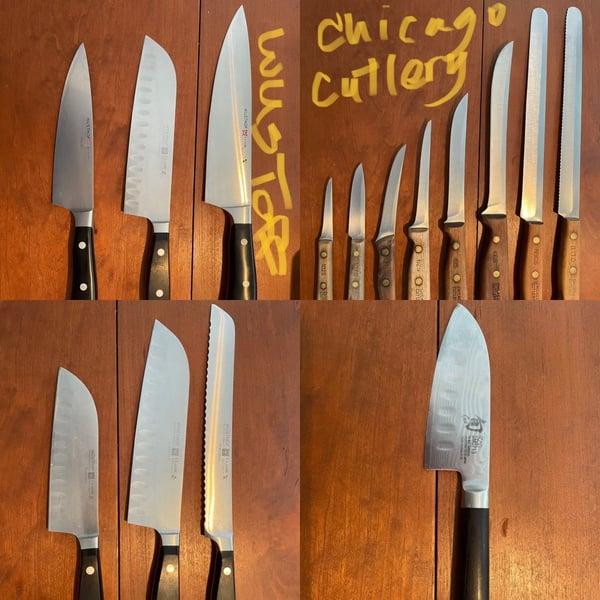 Tina Knife Shots
