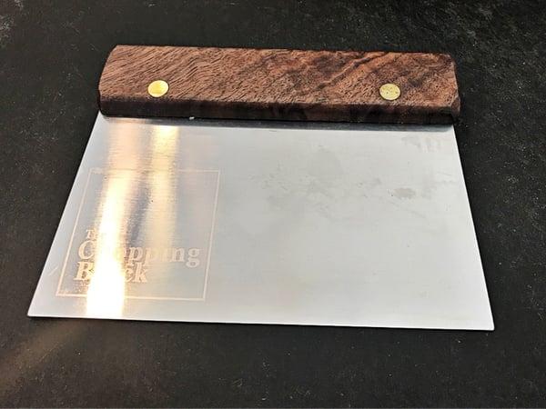 Walnut Bench Scraper