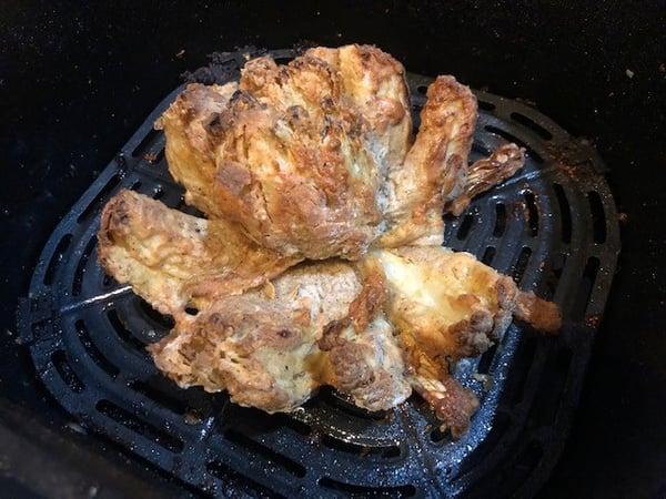 air fried onion