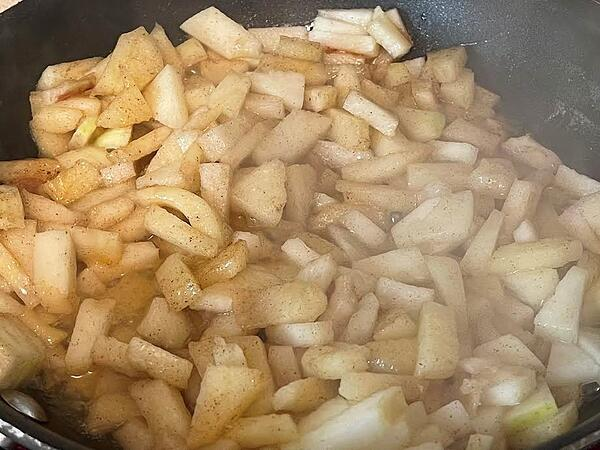 apples cooking