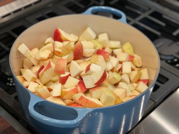 apples cut