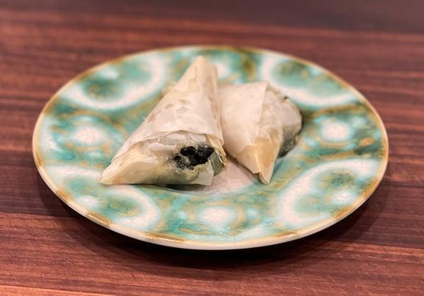 baked spanikopita