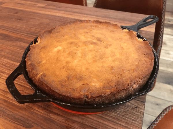 batter cooked skillet