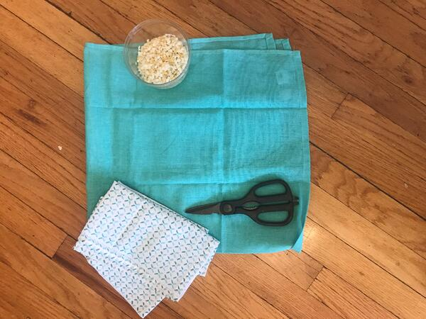 beeswax towel mise