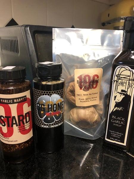 black garlic products