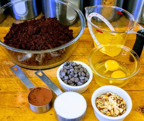 brownie mise