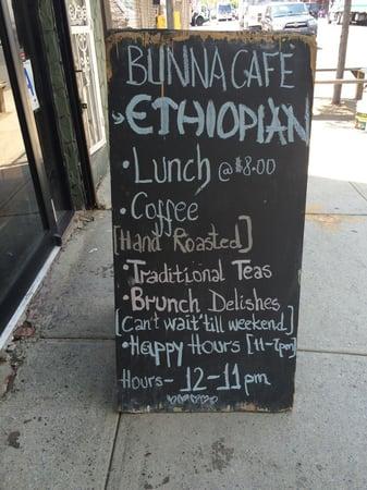Bunna: An Experience in Ethiopian Cuisine