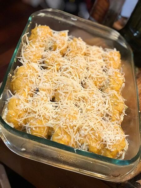butternut shells cheese