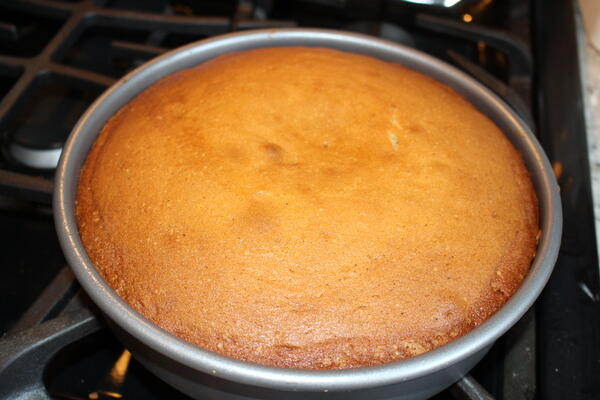 cake baked