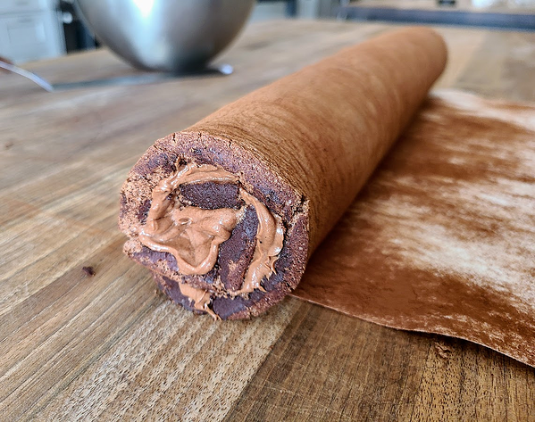 cake rolled