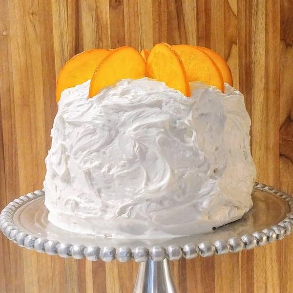 candied oranges cake
