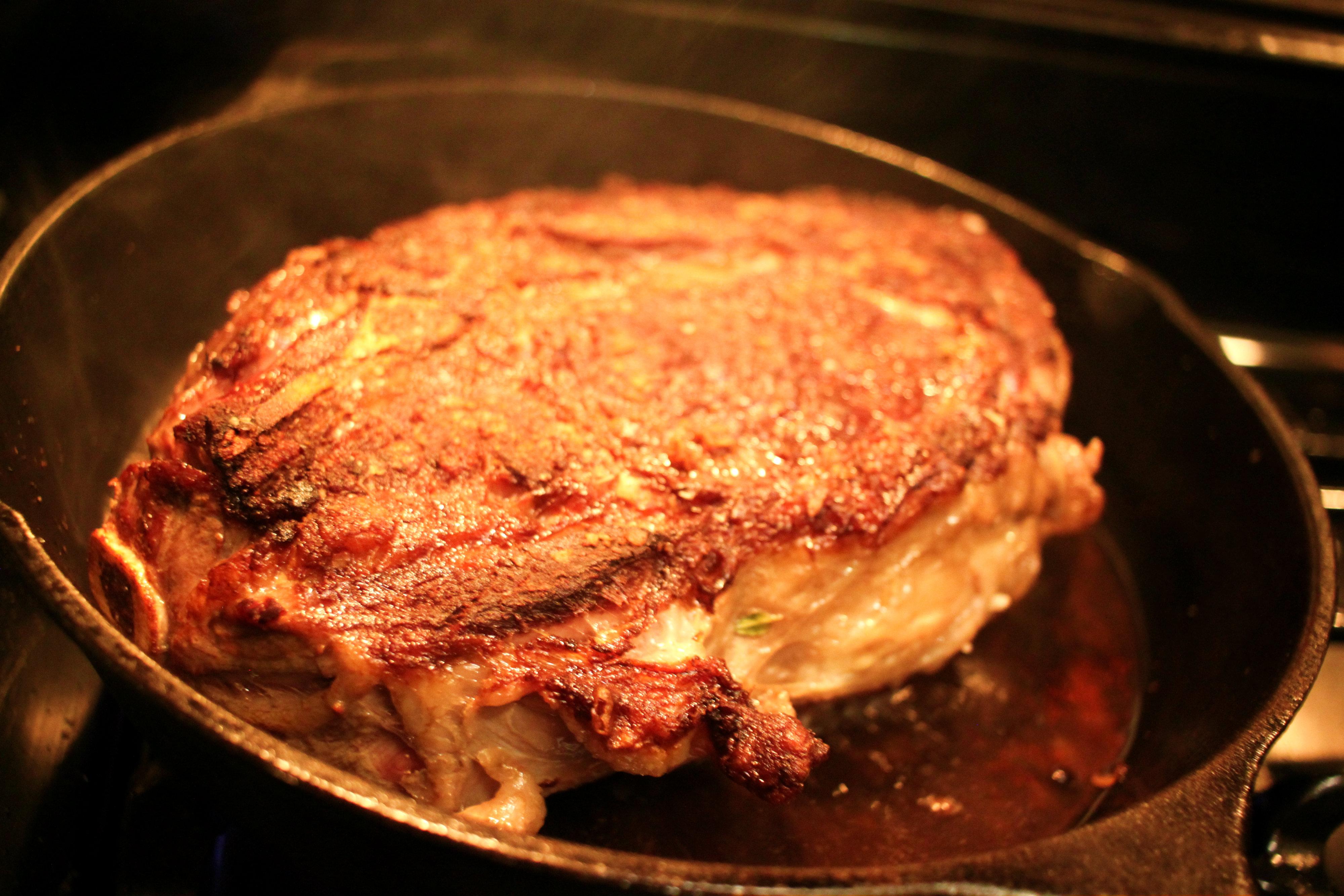 cast iron steak