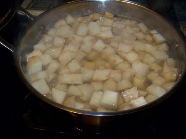 celery root water