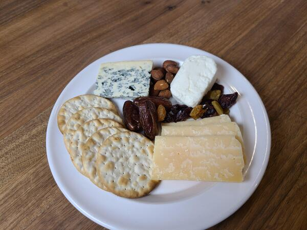 cheese plate for class