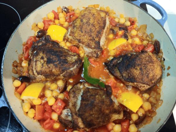 chicken and veg