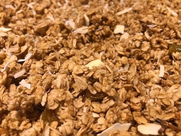 close up granola