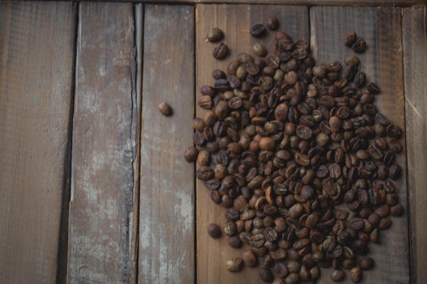 coffeebeansonwood