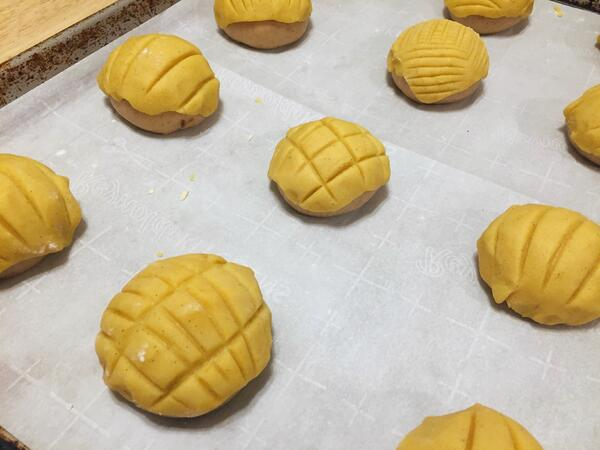 conchas before baking