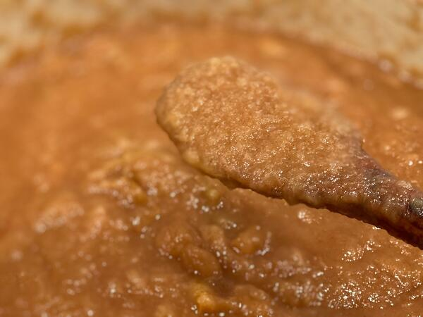 cooked applesauce