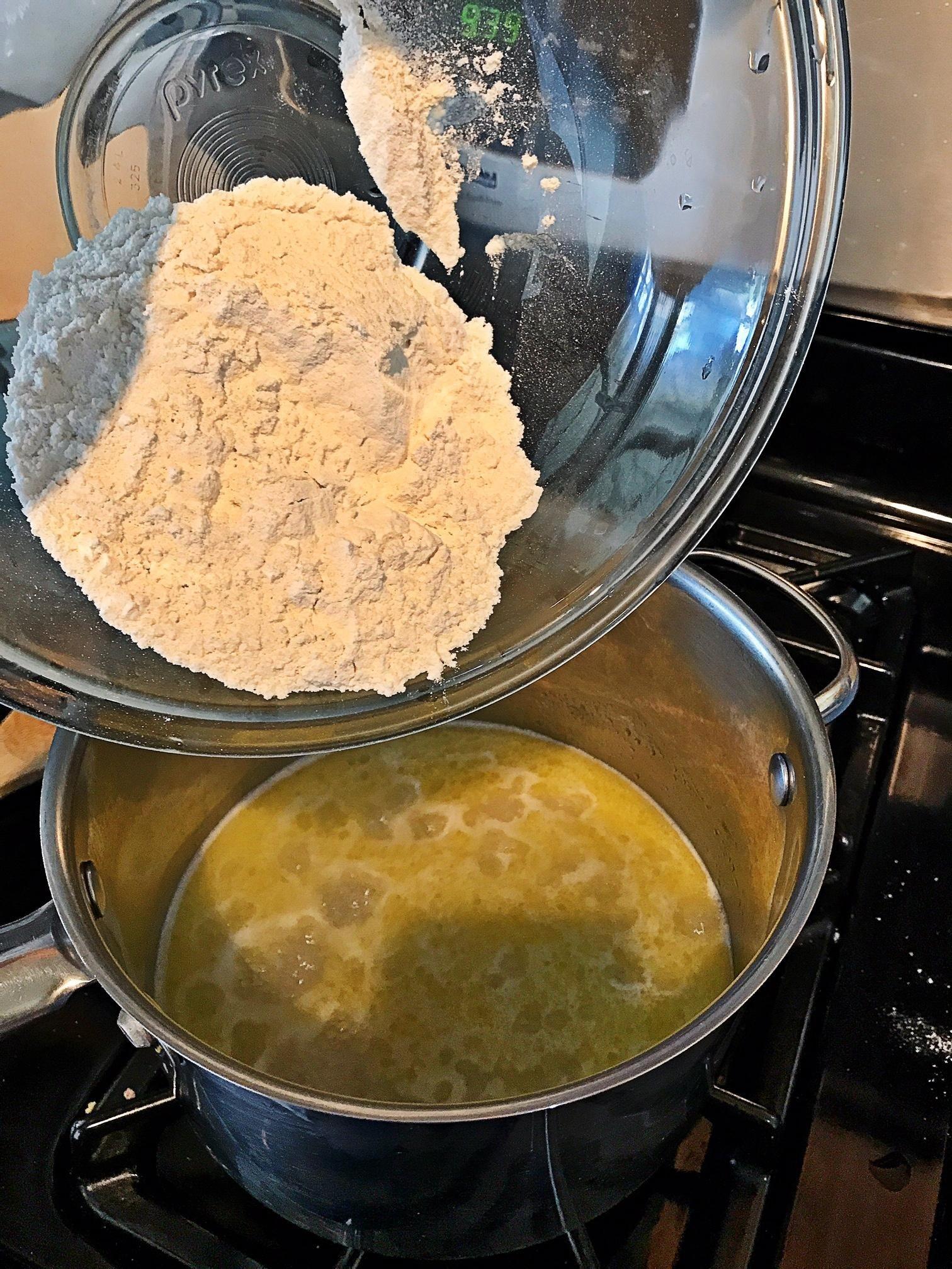 cruller dough