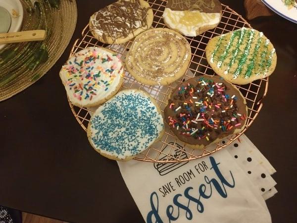 decorataed cookies