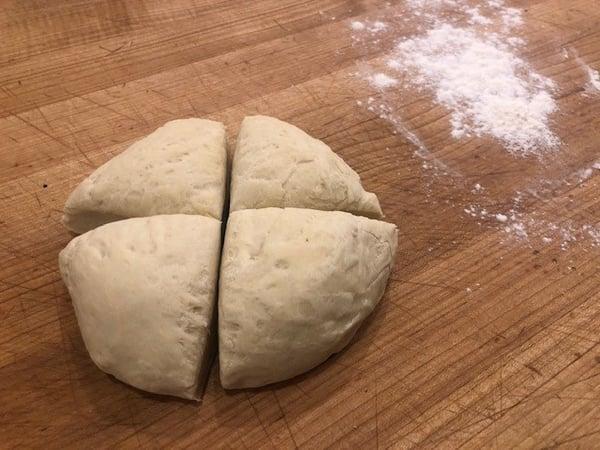dough 4 parts