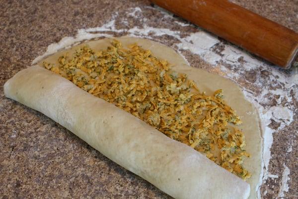 dough fold up