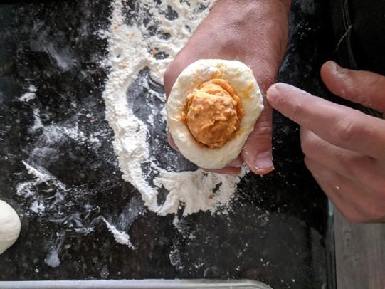 dough pimento center