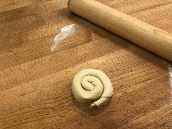 dough pinwheel