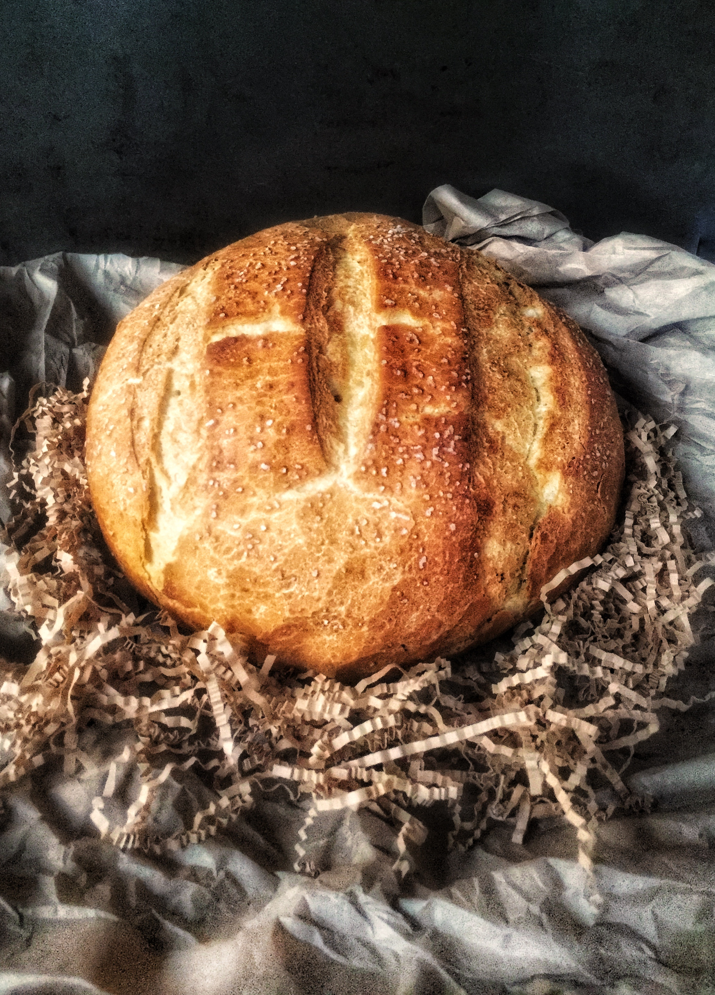 dutch oven bread loaf
