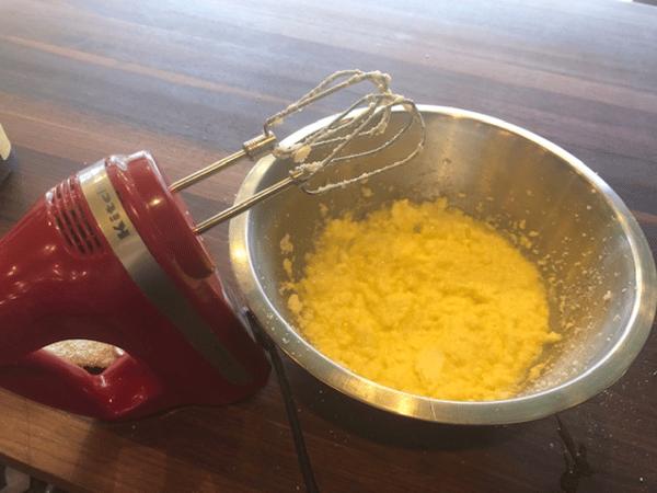 eggs butter sugar