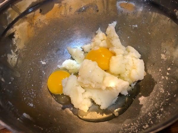 eggs in batter