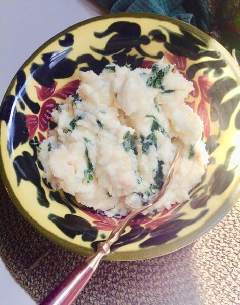 finished mashed potatoes