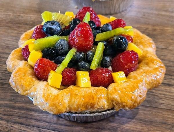 fresh fruit tart individual