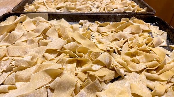 fresh pasta trays
