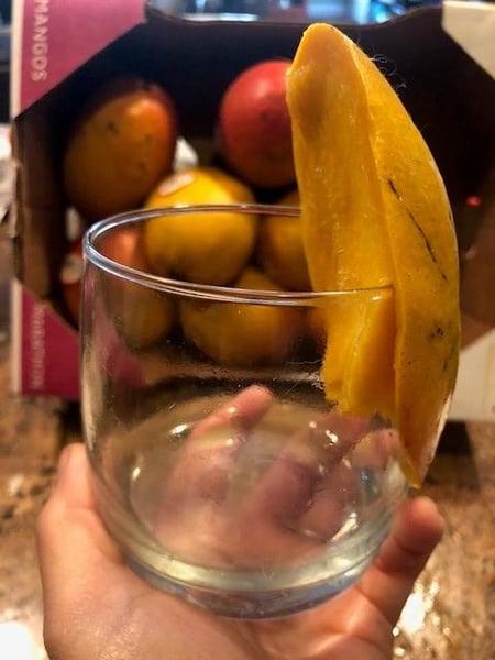 glass mango
