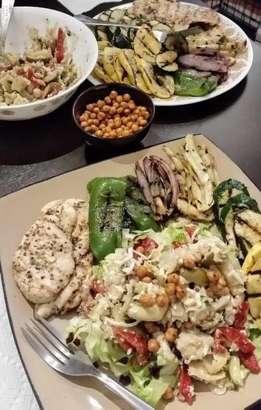grilled veggie spread