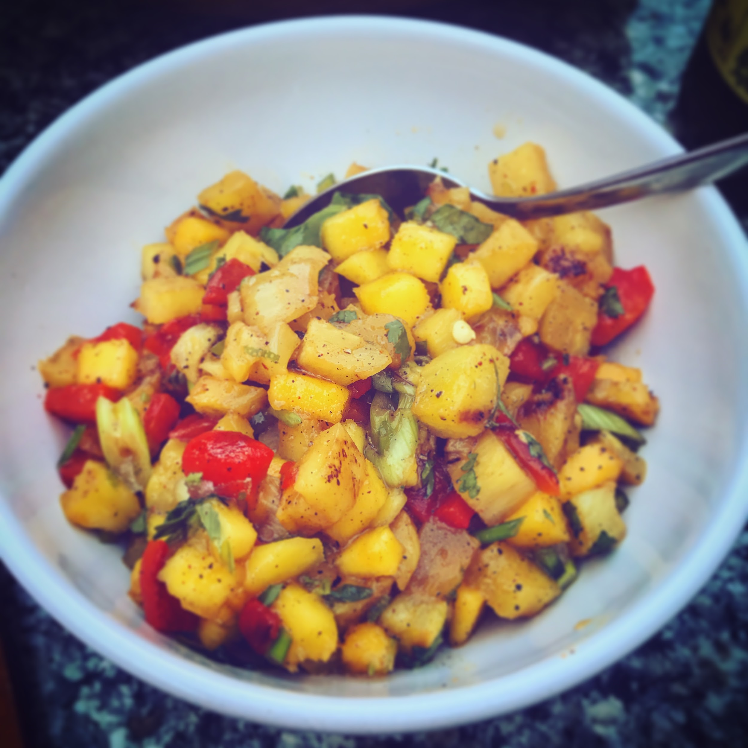 grilledfruitsalad