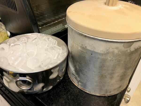 ice and canister