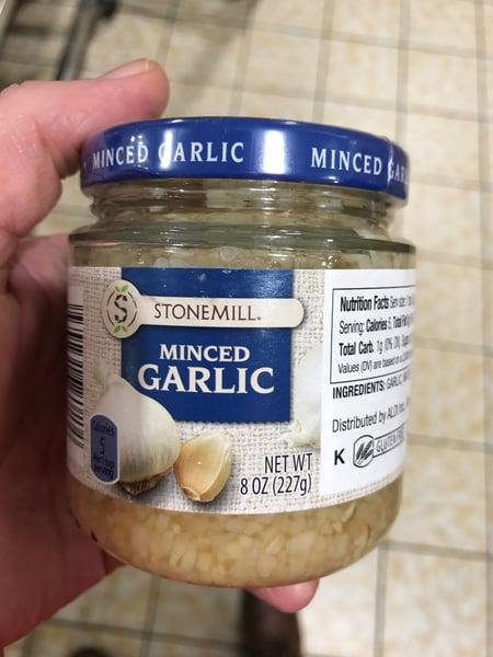 jarred garlic