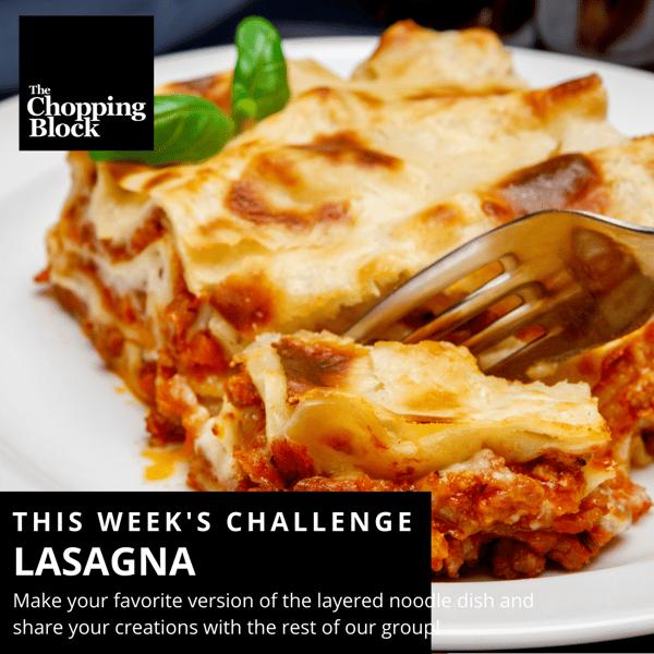 lasagna challenge